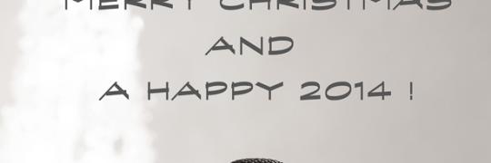 Een heel goed 2014 gewenst!